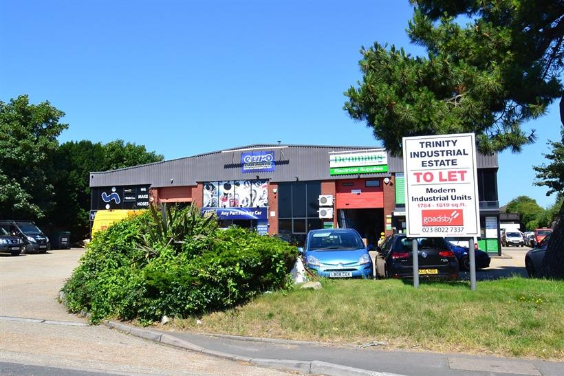 Goadsby Commercial Sell Prominent Southampton Industrial Estate