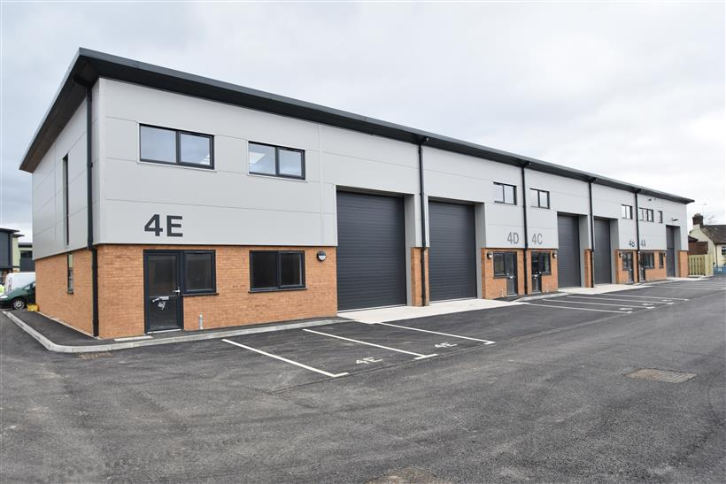 Goadsby Exchange Contracts On Brand New Industrial Unit