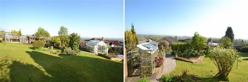 Stunning Garden with Far Reaching Views