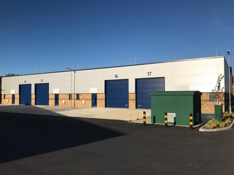 Continued Success At Avro Business Park With Only Three Units Remaining