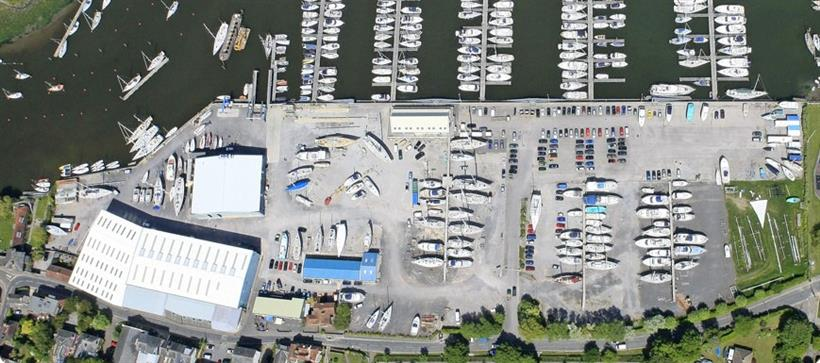 Goadsby Commercial Let Another Inclusive Office Suite In Lymington Boat Yard