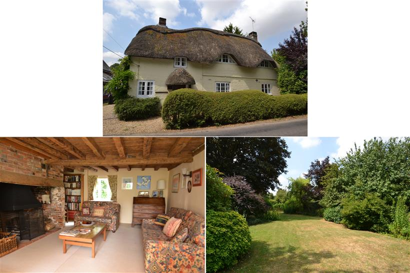 A Quintessential Country Cottage Within a Plot Approaching ¼ Acre