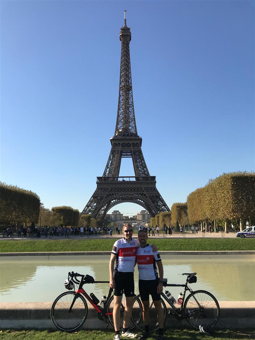 Goadsby Duo Make it to Paris in Under 24hours!