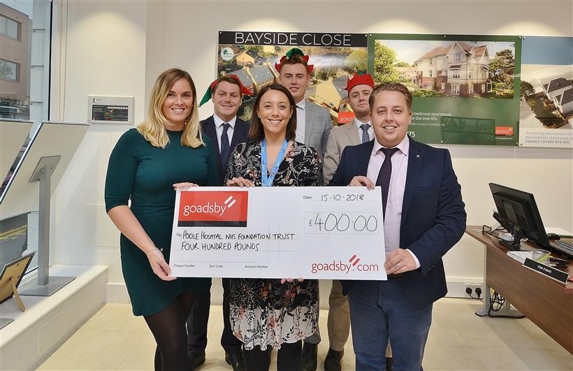 Goadsby Poole Continue to Support Poole Hospital Charity