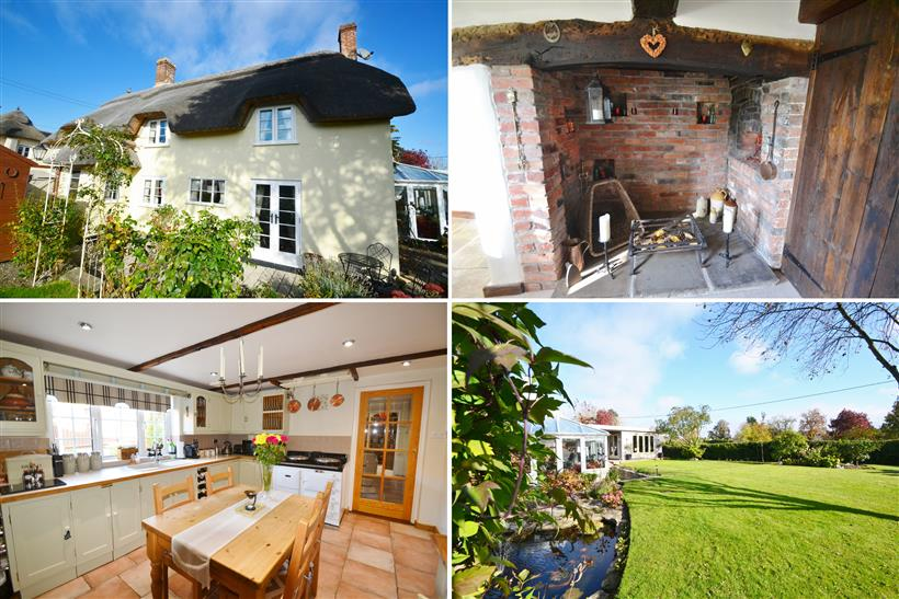 Charming Thatched Cottage With Beautiful Gardens & Views
