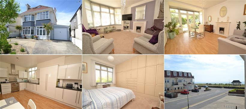 Southbourne Large Family Home With Sea Views