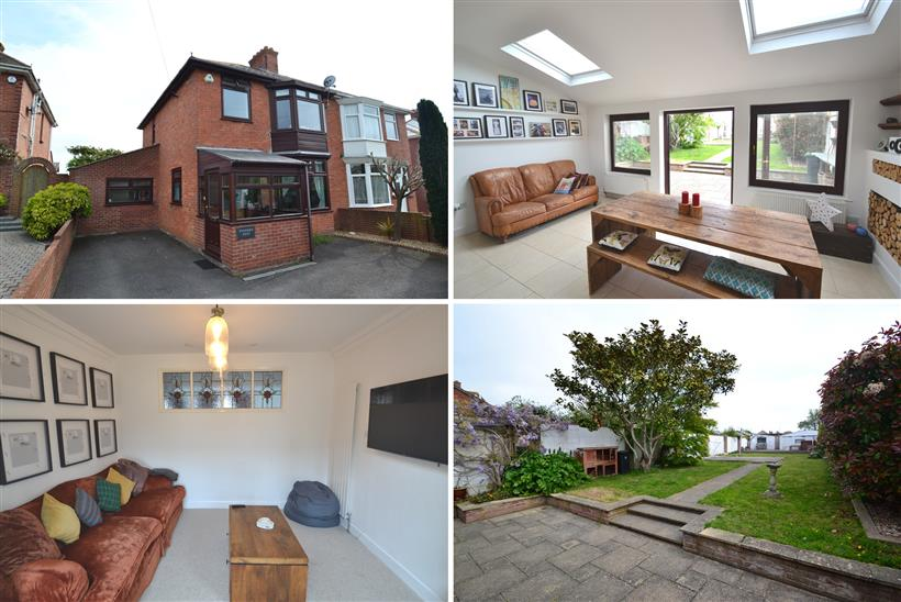 An Immaculately Presented & Extended Family Home With Character & Benefitting From 2 Garages