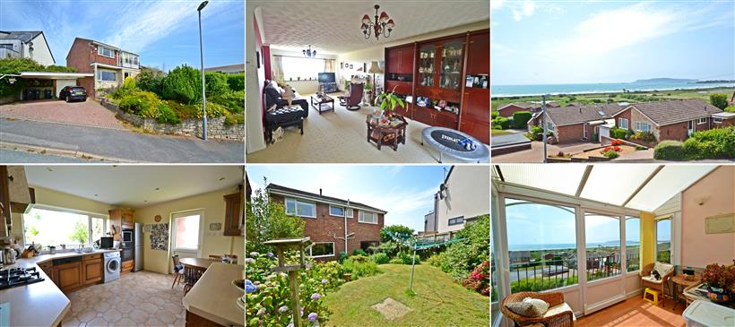 Outstanding Sea Views Enjoyed From A Generous Detached Family Home