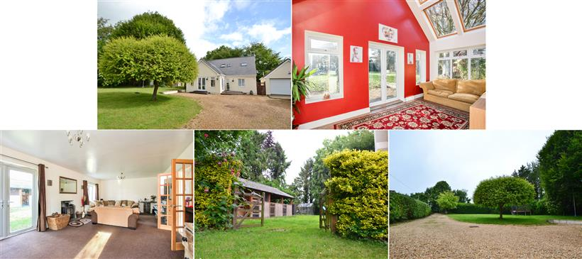 Detached Chalet Residence on Generous Plot