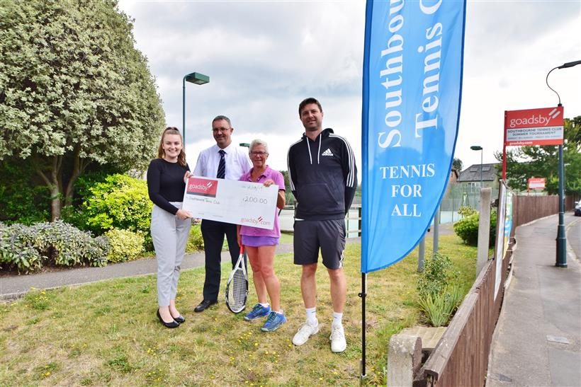 Goadsby Sponsor the Southbourne Open