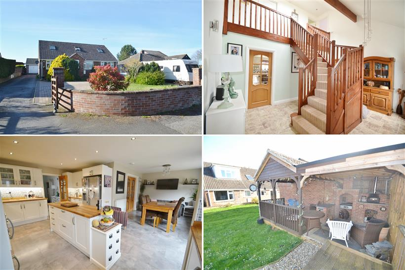 Spacious Five Bedroom Chalet Style Home on the Outskirts of Blandford with Countryside Views