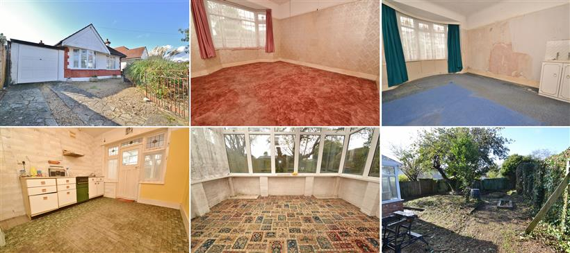 Open House – 2 Double Bedroom Bungalow Needing Total Modernisation