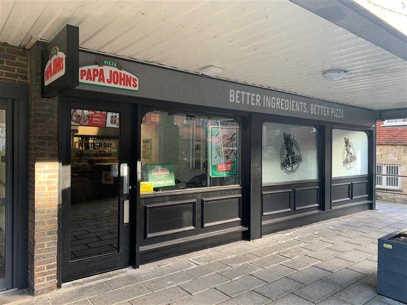 Goadsby Acquire New Unit On Behalf Of National Pizza Chain Operator Papa John's