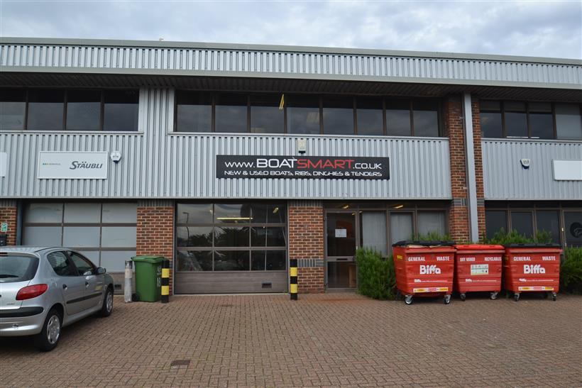 Industrial Unit At Mitchell Point Let By Goadsby Commercial
